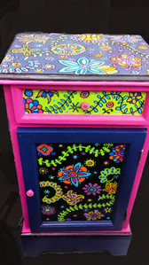 Whimsical Side Table