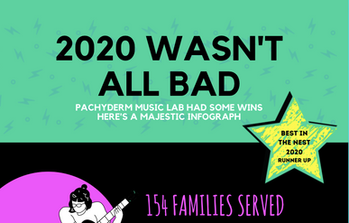 2020 Wasn't All Bad: A Majestic Infograph