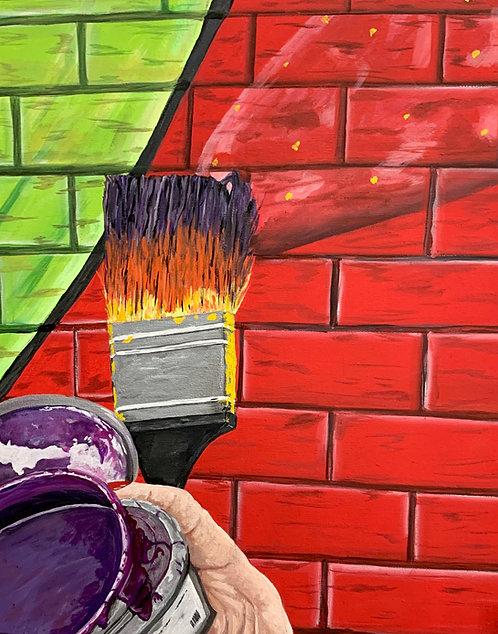 The Artist's Paintbrush