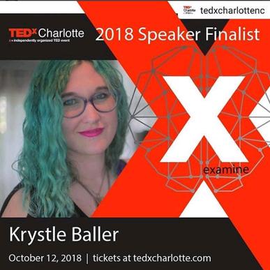 Krystle Baller is a TEDx Finalist!