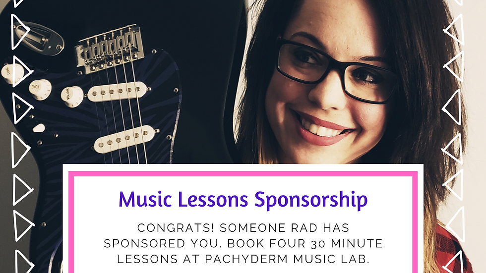 Sponsor One Month of Lessons