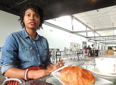 Local Caricaturist Lo'Vonia Parks on Speed Drawing and Making People Cry | Creative Loafing