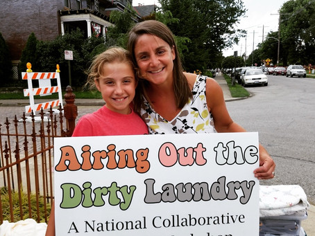 "Andrea Downs is a catalyst for helping women air out their ""dirty"" laundry"