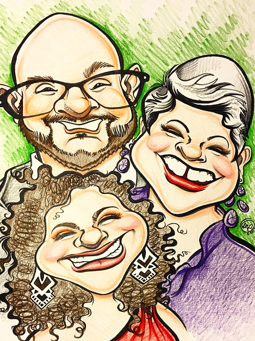 Custom Caricature Deposit