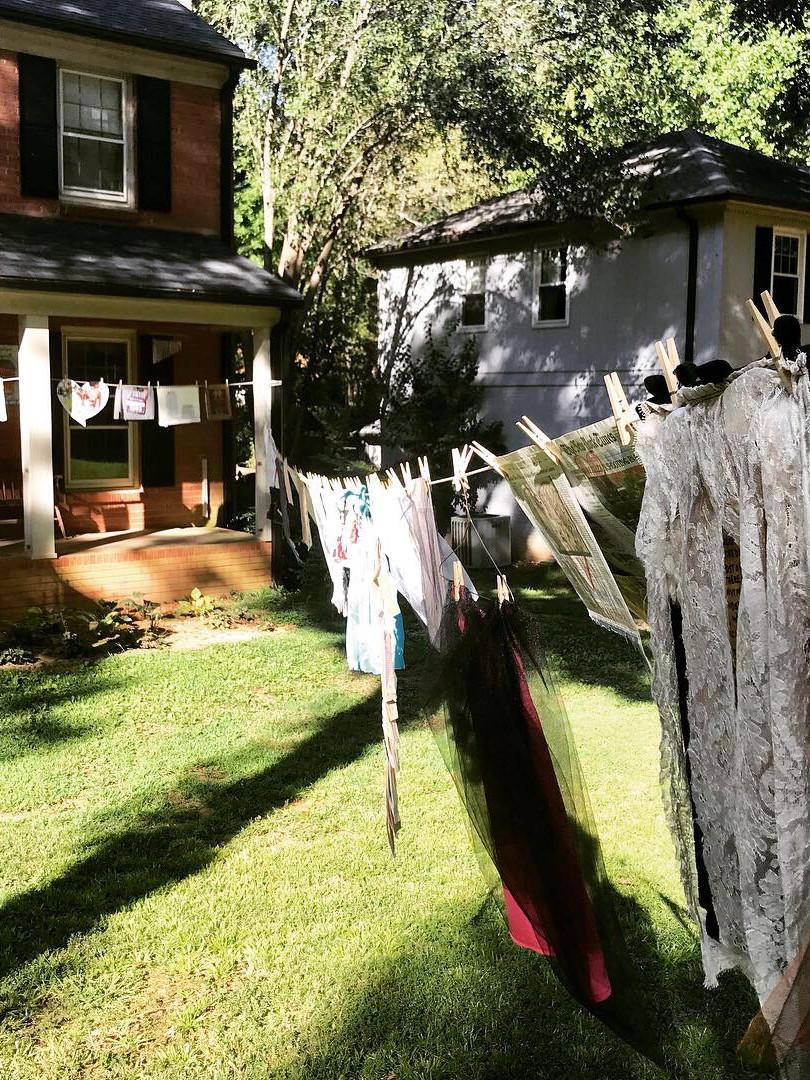 Pop Up Installation - Yard Art Day 2019