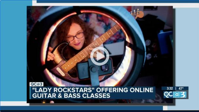 Lady Rockstars on QC Life