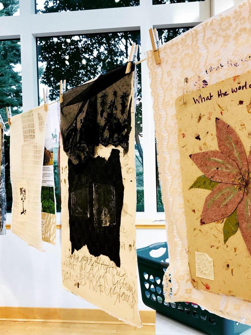 Installation - UNC Charlotte Student Union Art Gallery
