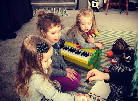 Forget itsy bitsy spider! This class is for baby punk rockers