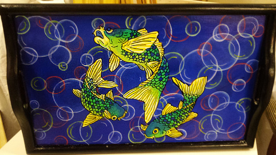 Asian Fish Tray