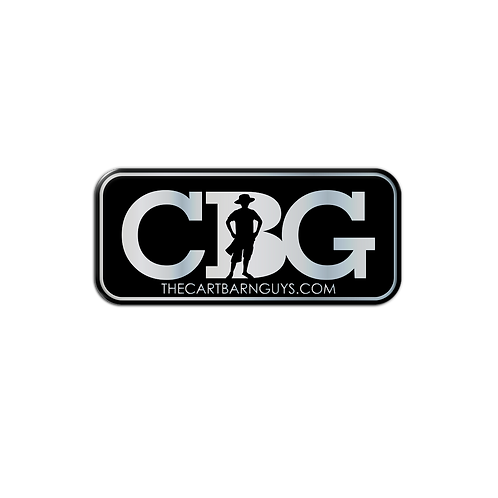 CBG Domed Decal