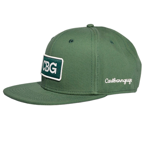 CBG Patch Green Hat
