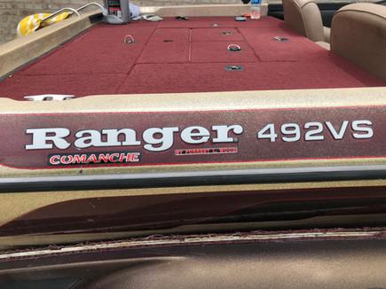 Raised Ranger Boats decals