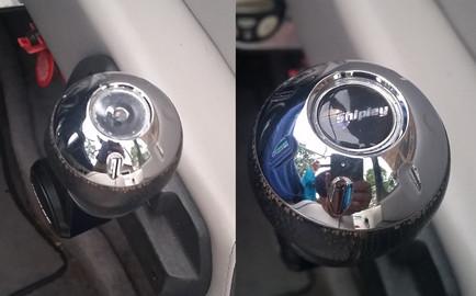 Malibu throttle knob decal