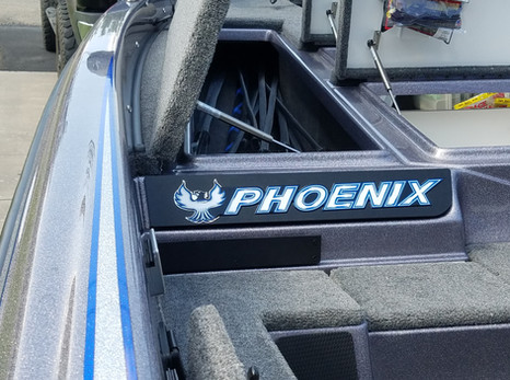 Phoenix Boats brand decal