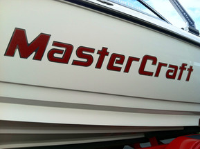 Officially Licensed Mastercraft Domed Decals
