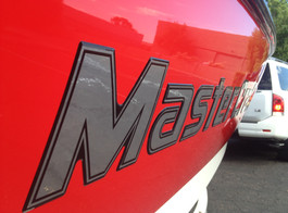 Officially Licensed Mastercraft Brand Domed Decal