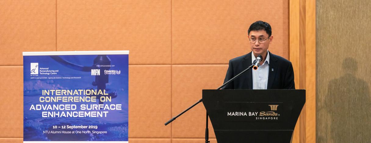 Professor Tan Sze Wee's Opening Speech