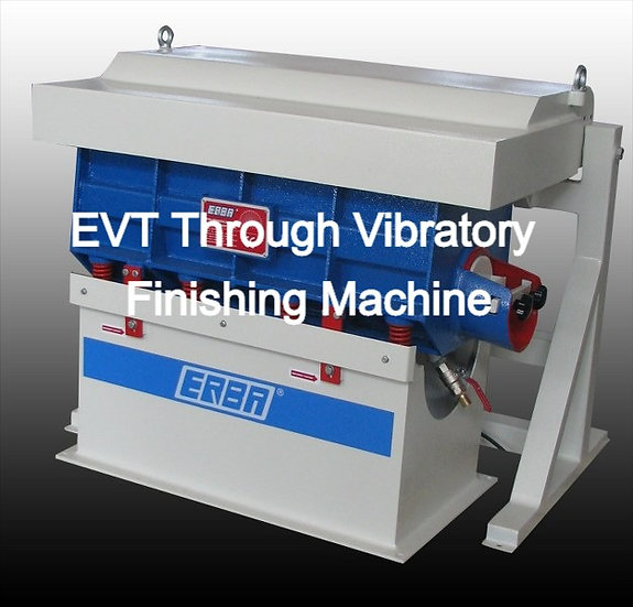 Trough Vibratory Finishing Machine