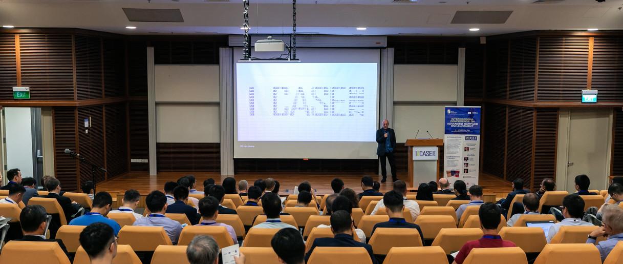 Welcome Speech by Professor Alexander Korsunsky (INCASE2019 Conference Chairman)
