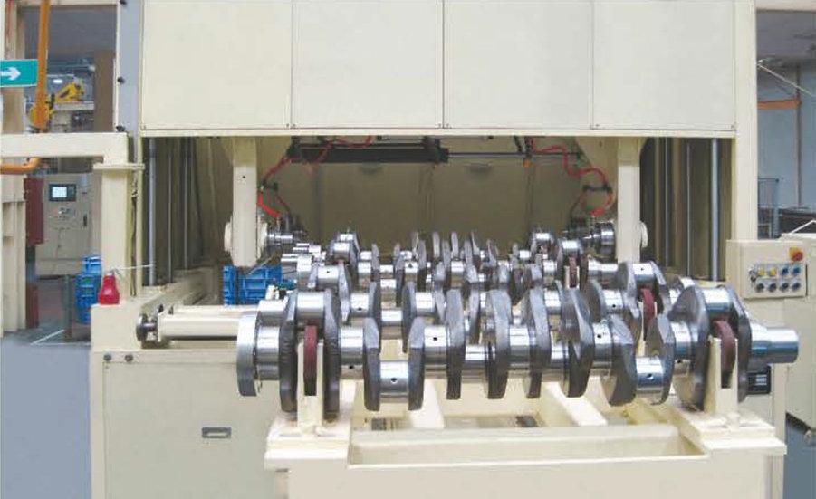 Horizontal Type Shaft Polishing System
