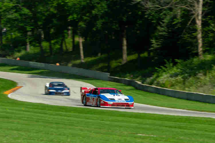 """Jason Miller's 1990 Nissan 300 ZXT continued the JDM goodness coming out of """"Thunder Valley"""" weathertech international challenge with brian redman at road america elkhart lake wisconsin"""