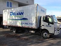 Delvan Location camions 20'