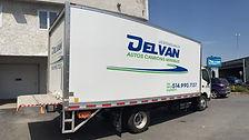 """Location de camion 20"""" Delvan"""