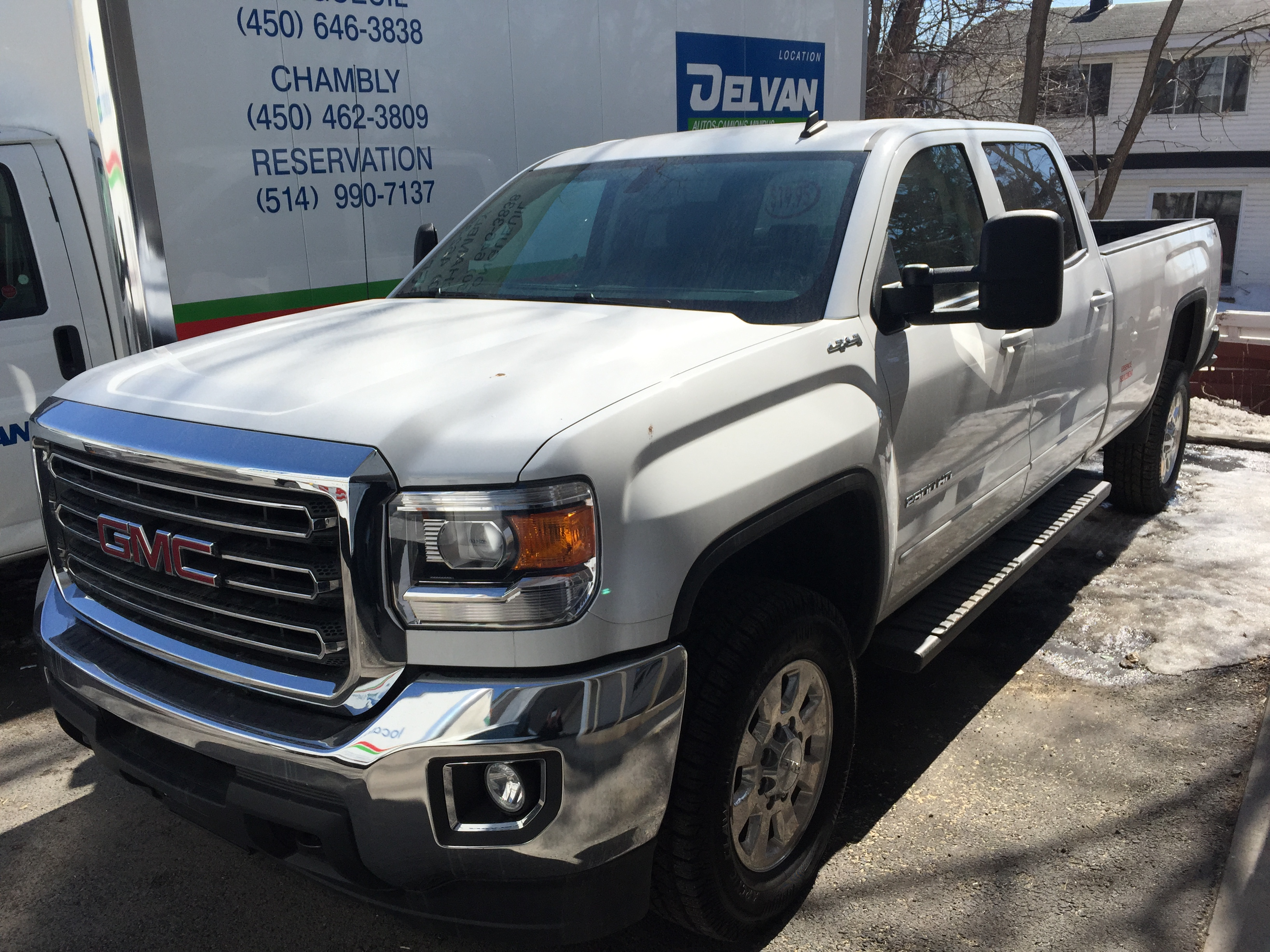 Delvan Location Pick-up GMC