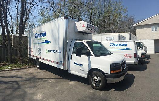 Delvan Location auto camions