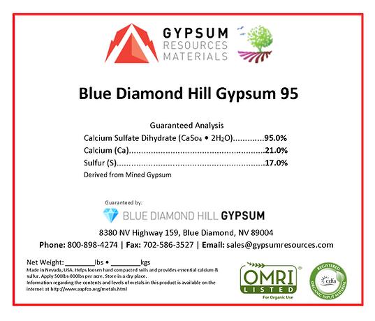 GRM Blue Diamond Hill Gypsum 95 (OIM) La
