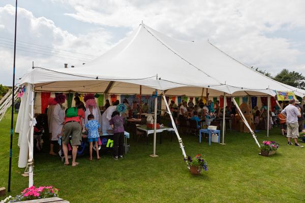 craft tent