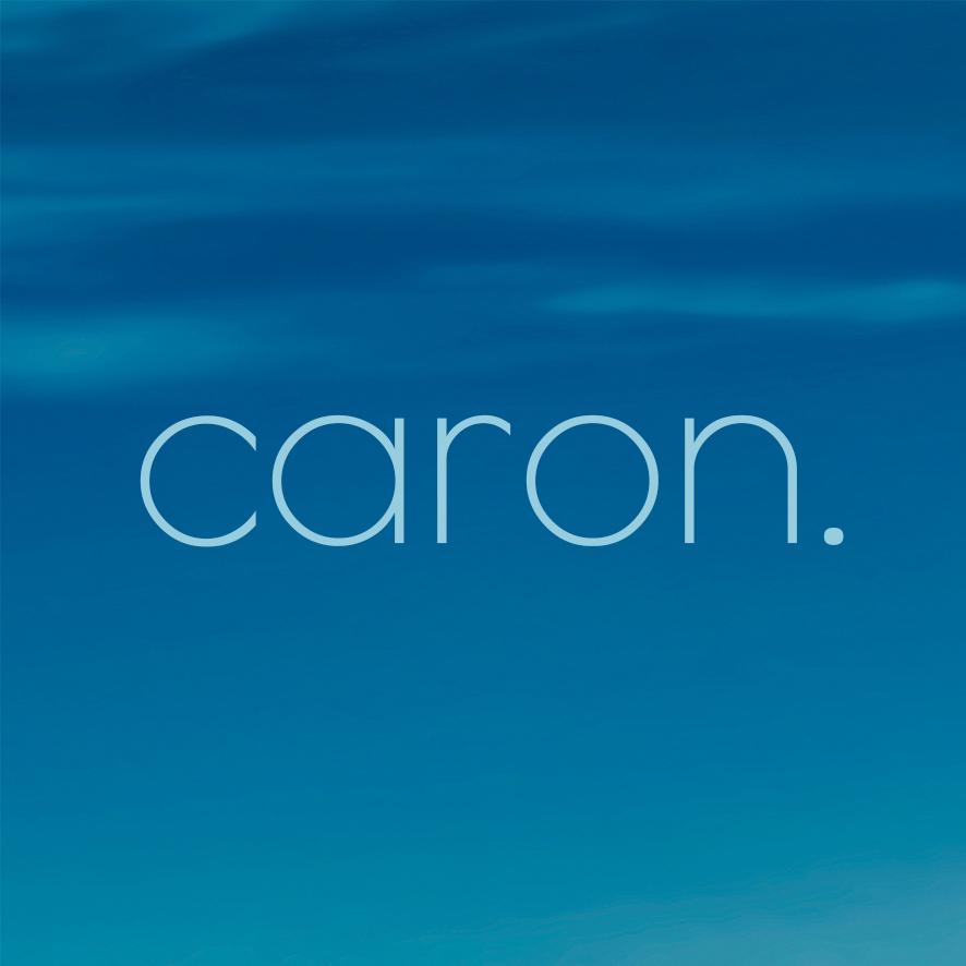 Caron Eyewear Logo - Sky