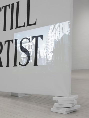 Título:I'm Still an Artist y Refugio Artista: Juan Antonio Cerezuela Comisaria: Blanca Fullana
