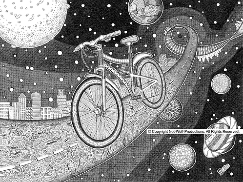Bicycle in Space