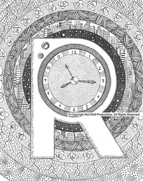 Physics Alphabet Book: R is for Relativistic