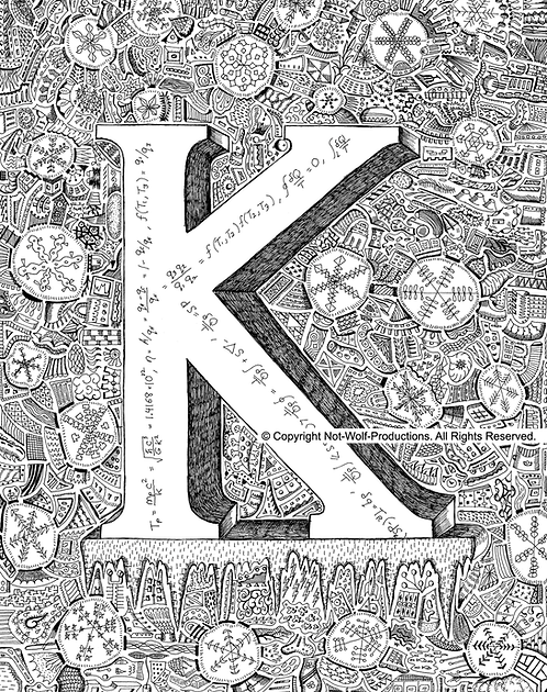 Physics Alphabet Book: K is for Kelvin Scale