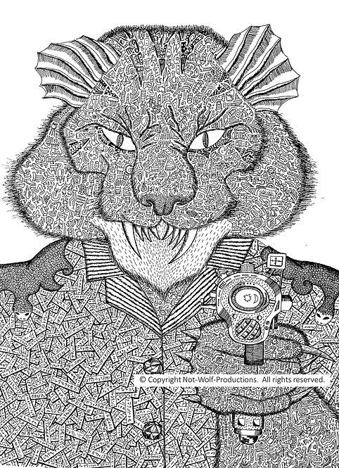 Science Fiction Alphabet Book: K is for Kzin