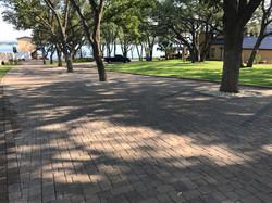 Bricks with Trees and Lake