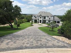Bricks in Front of Mansion