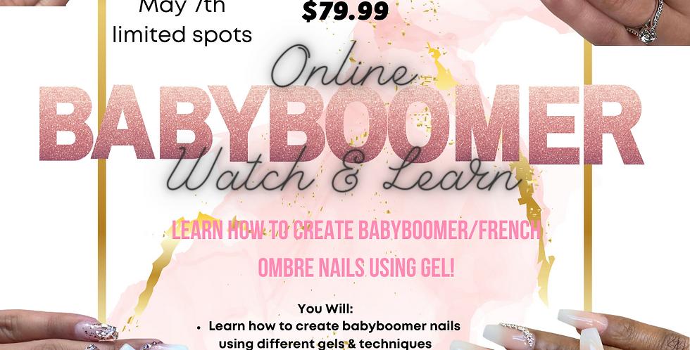 """Online """"BABYBOOMER"""" Class"""