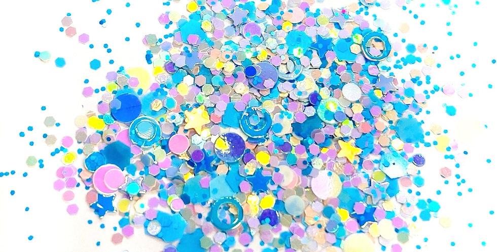 GLITTER: Blue Freezie