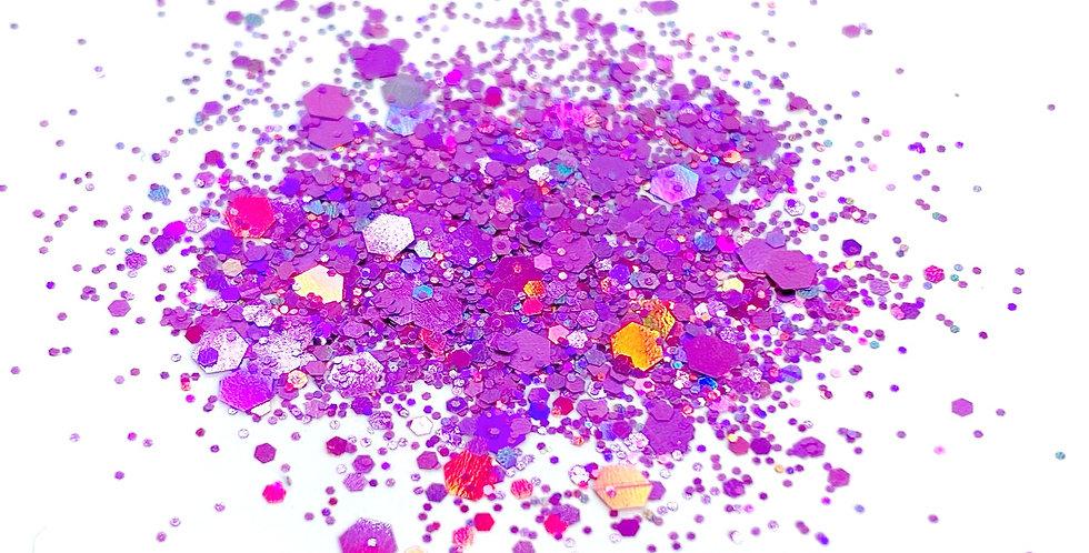 GLITTER: Chunky Mix - Pink Holo