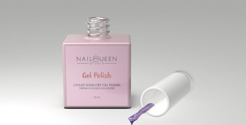 "Gel Polish: ""Purple Rain"""