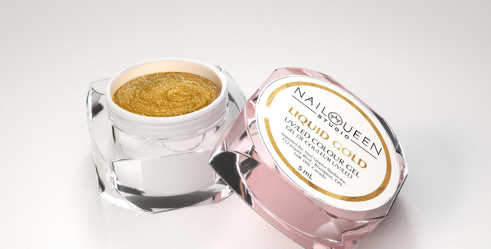 "Glitter Gel: ""Liquid Gold"""