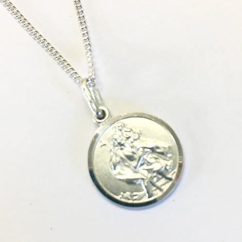 Small St. Christopher Pendant