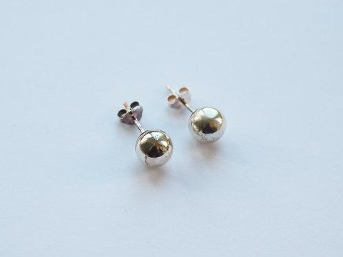 Simple Ball Stud Earrings
