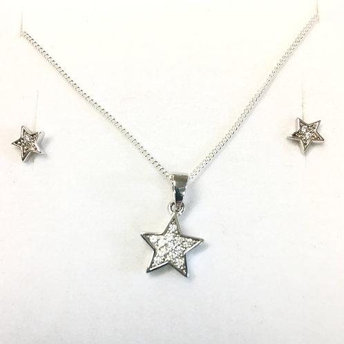 CZ Star Set