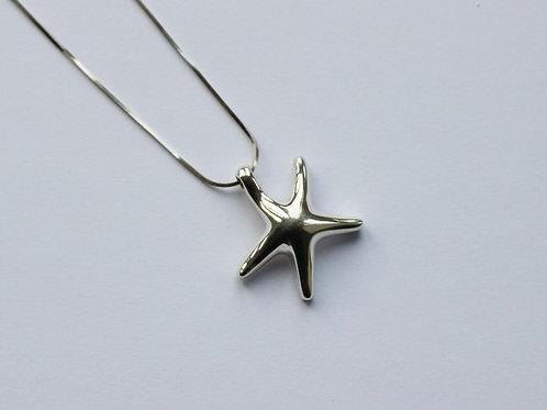 Chunky Plain Starfish Pendant