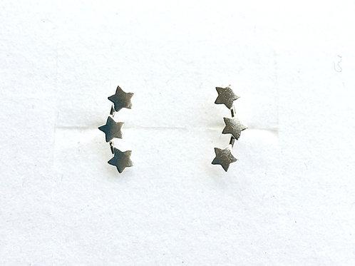 Triple Star Studs