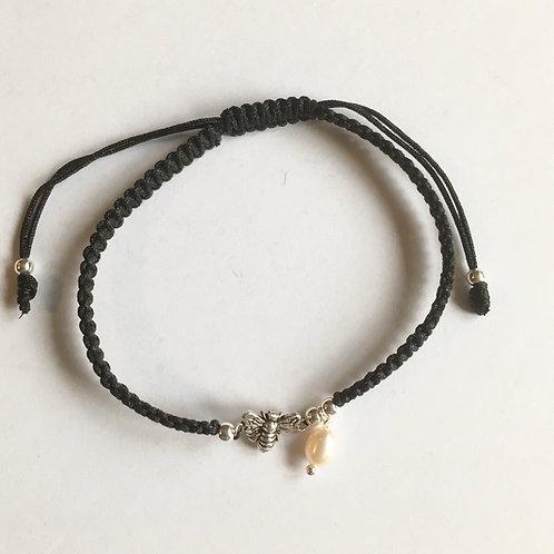 Bee & Pearl Adjustable Bracelet